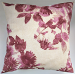 "Cushion Cover in Next Wild Bloom Plum 14"" 16"" 18"" 20"" Matches Curtains"